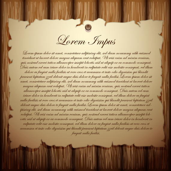81e439726fde Wood With The Old Paper Vector 1 - Vector download