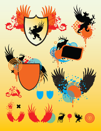 Shield Vector Graphics