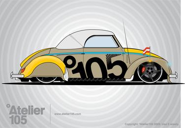 Gráficos de besouro de Volkswagen