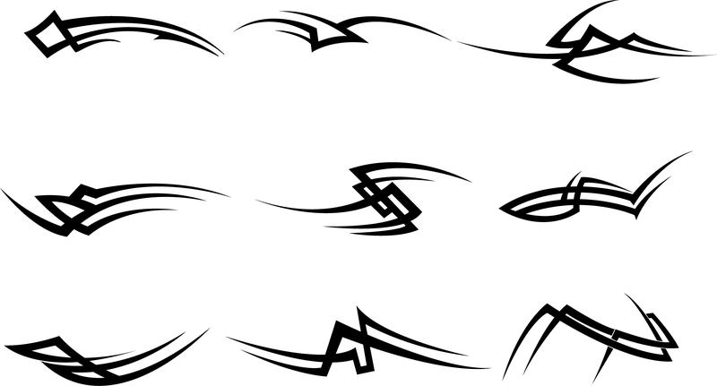 Vector Drawing Lines Download : Tribal vectors vector download