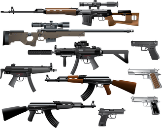 Love The Gun Vector