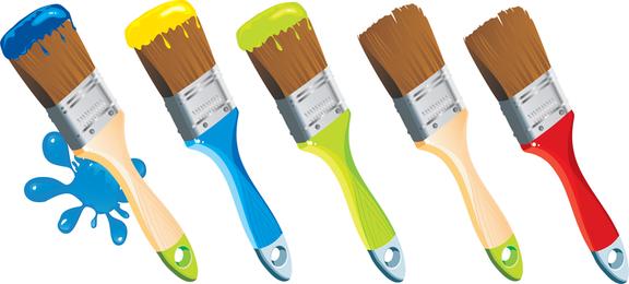 Paint Theme Vector