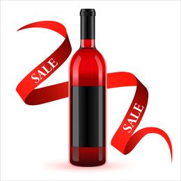 Vetor de vinho 2