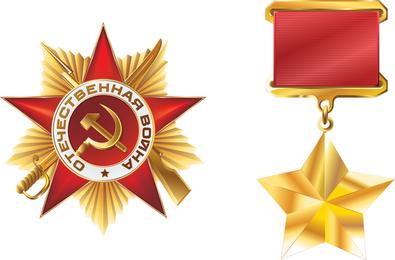 Medalla de oro rusa