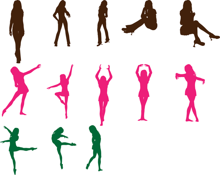 Dancing Vectors Pack