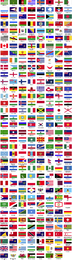 Flags Of The World Sorted Alphabetically
