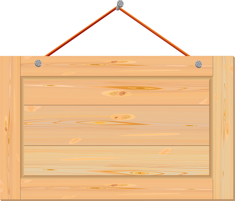 Cartoon Wood Board ~ Wood boards vector download