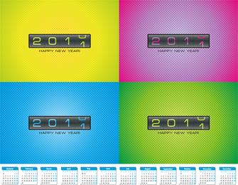 2010 sobre 2011 clip art
