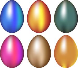 Easter Egg Album Vector