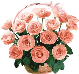 Rose Bouquet 05 Vector
