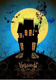 Halloween Horror Poster Vector