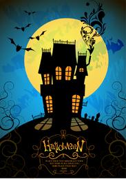 Halloween Horror Poster Vector