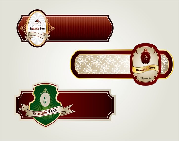 Some Useful Label Vector - Vector download