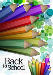 Color Pencil Illustrations 03 Vector
