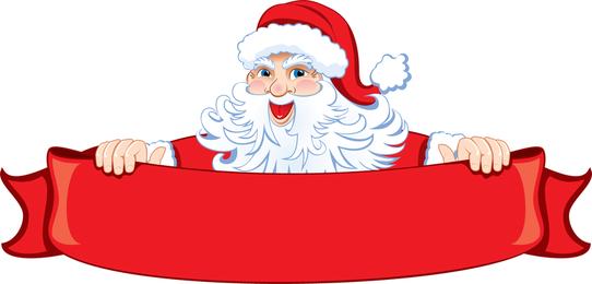 Papai Noel 01 Vector
