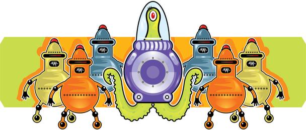 Vector de alien