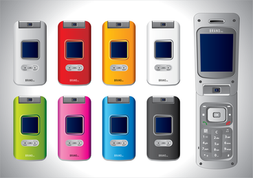 Vector Cell Phones 2