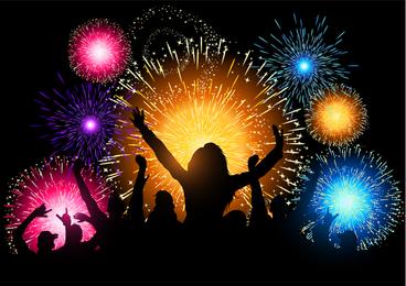 Fireworks Festival 01 Vector