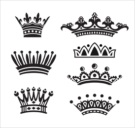 European Crown Vector