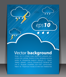 Weather Effects Card 05 Vector