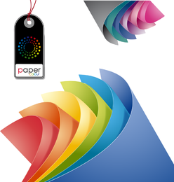 Colored Paper Vector