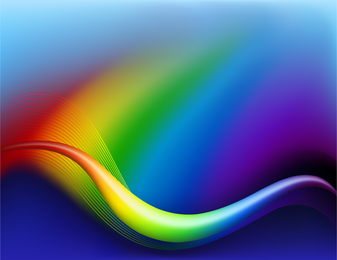 Bright Dynamic Flow Line 04 Vector
