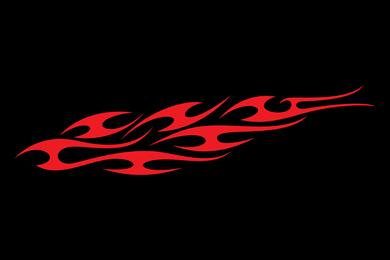 Totem de fogo de 100 modelos de vetor