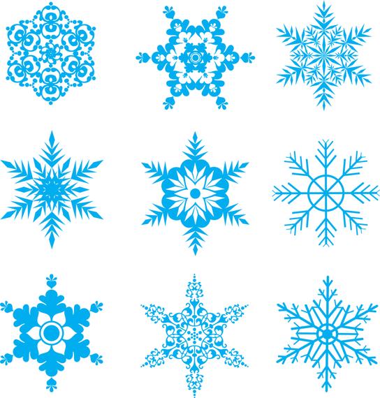 free snowflakes vector set vector download rh vexels com snowflake vector file free download snowflake vector art free download