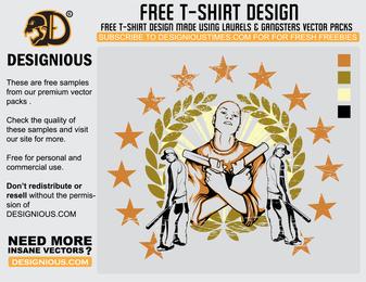Gangsta T Shirt Design 2