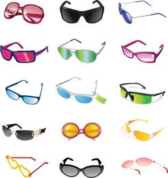 Ilustración de Vector de gafas de sol gratis
