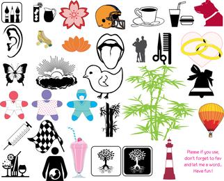 Pacote de vetores de elementos de design grátis