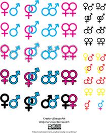 Gender Symbol Vector