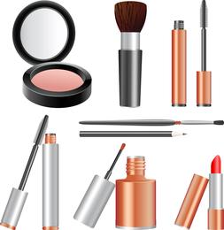 Vector de cosmeticos