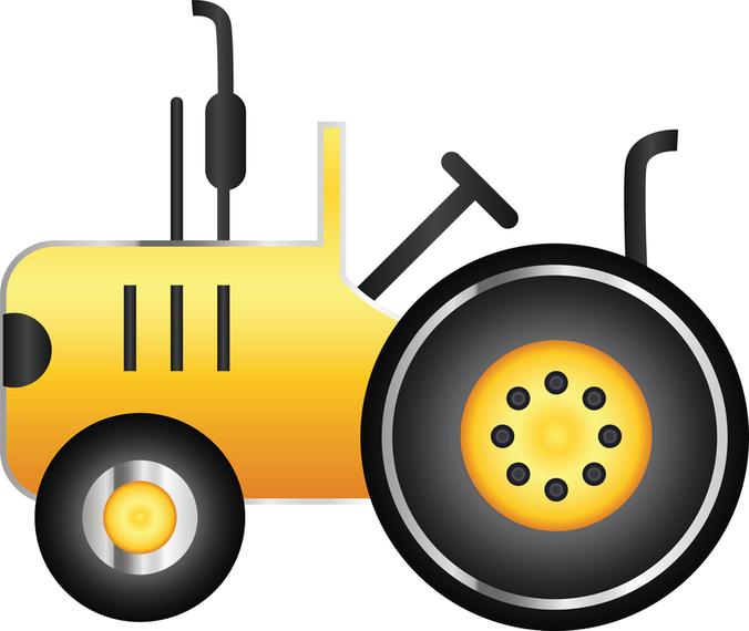 Icono de Vector libre Tractor