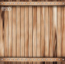 Vetor de madeira 04