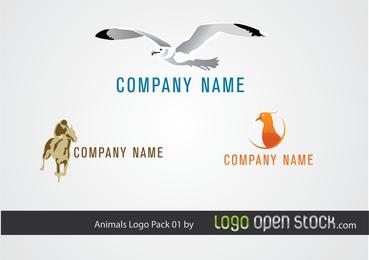 Logo de Animal Pack 01