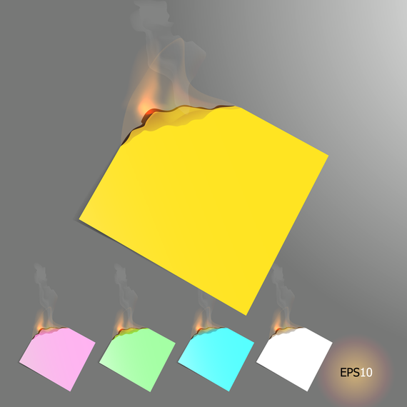 Burning The Label 04 Vector