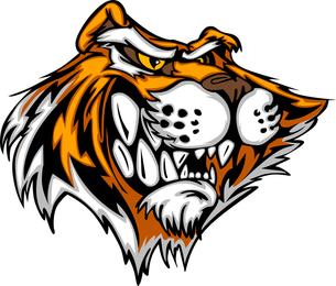 Vetor de tigre imagem 21