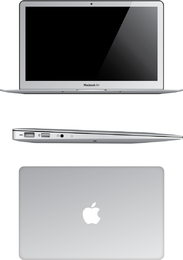 Macbook Air Vector Libre