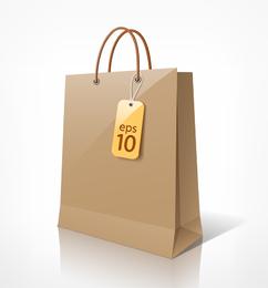 Shopping Bags 01 Vector