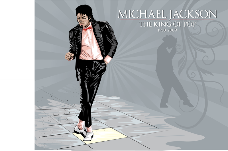 Michael Jackson illustration design