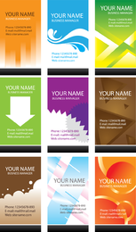 Simple Business Card Template Vector