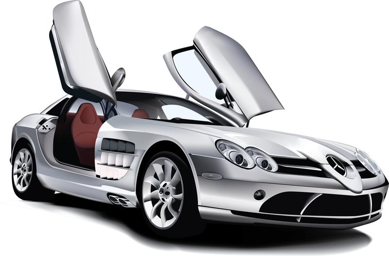 Mercedes benz slr mclaren vector download for Mercedes benz car wash free