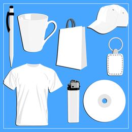Em branco Vi Design Vector comumente usado itens