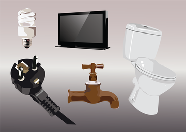 Household Vector Graphics