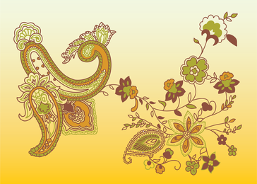 Paisley Vector 2