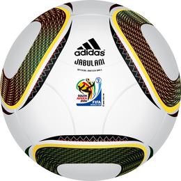 Copa del mundo 2010 Sudáfrica Vector especial de pelota