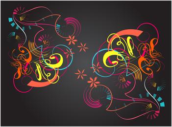 Gráficos vectoriales de colores