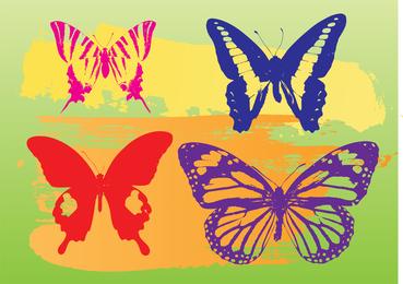 Butterflies Vector Graphics