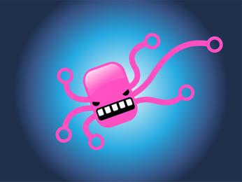 Personagem Comic Octopus